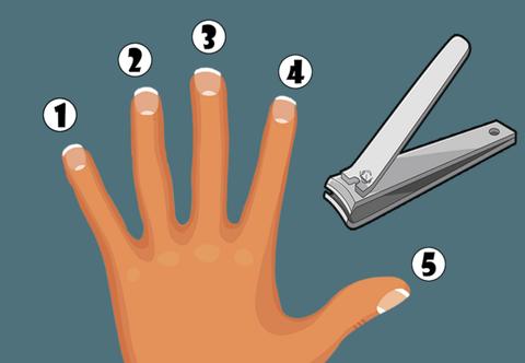 剪指甲心理測驗