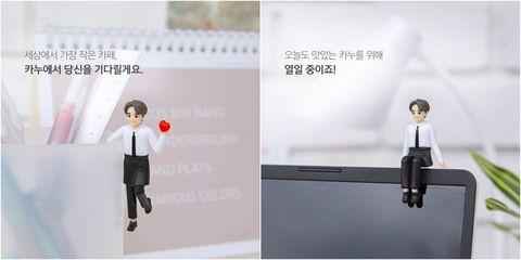 韓國KANU 咖啡五款「孔劉杯緣子」上架販售!男神陪你喝咖啡不是夢