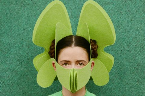 民生用品提供人員造型口罩