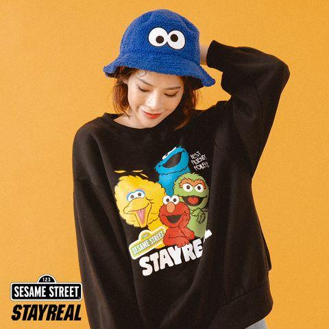 STAYREAL與Sesame Street芝麻街第二波聯名系列