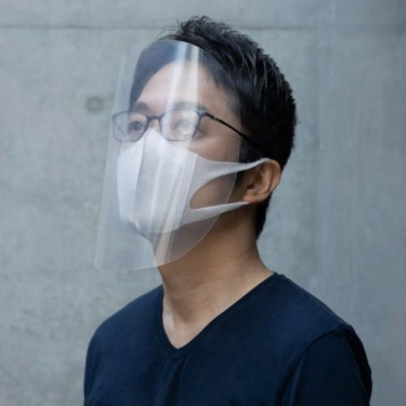 Tokujin Yoshioka自製極簡面罩
