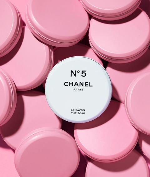 chanel 香奈兒 5號工場鞋油盒香水皂
