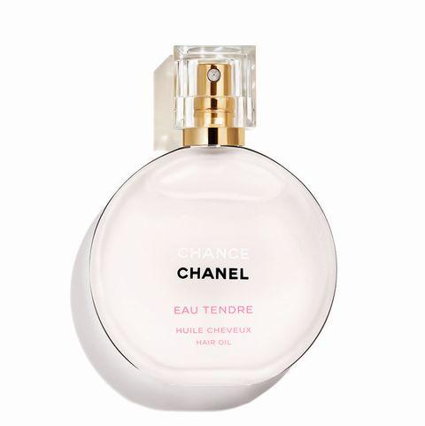 chanel香奈兒 chance粉紅甜蜜髮香修護油,35ml,nt2,100