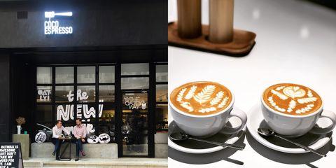 香港,咖啡廳,咖啡,拉花,高手,時髦,復古,推薦