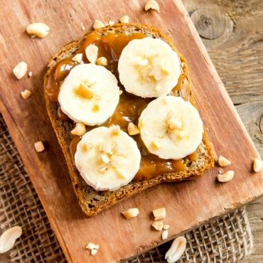 香蕉 減肥 瘦身 花生醬