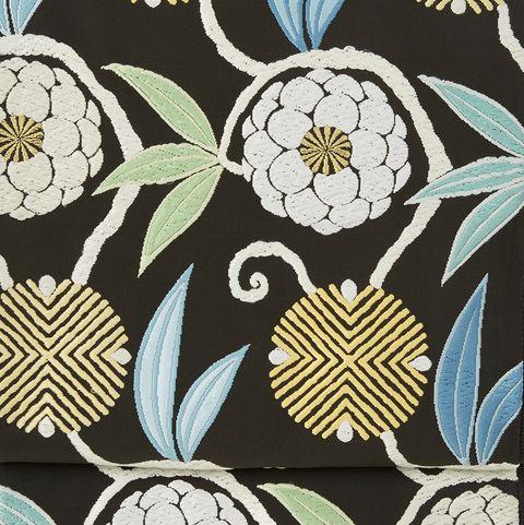 笹蔓緞子の袋帯