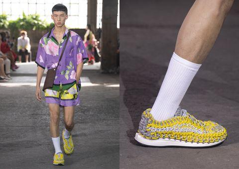 valentino鉤織運動鞋全新登場!四款顏色、細節「收藏亮點」一次看