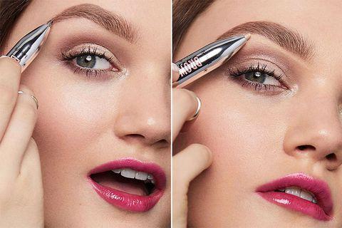 Benefit, 眉筆, 原子筆眉筆, 創意美妝, 眉骨打亮, 立體眉妝, beauty
