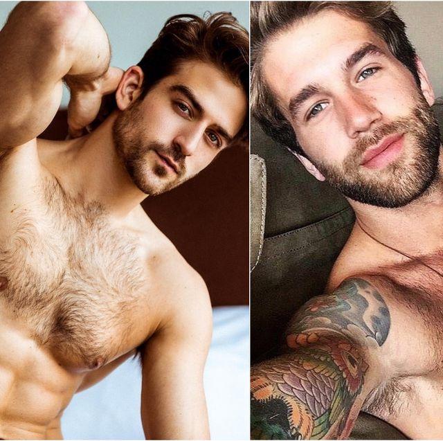 Barechested, Hair, Facial hair, Beard, Chest, Muscle, Chest hair, Model, Human, Flesh,