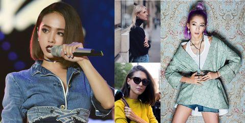 Lip, Fashion, Street fashion, Ear, Jeans, Photography, Fashion accessory, Art, Photo shoot, Style,