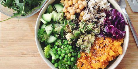 Dish, Food, Cuisine, Ingredient, Vegetable, Produce, Vegetarian food, Lunch, Vegan nutrition, Leaf vegetable,