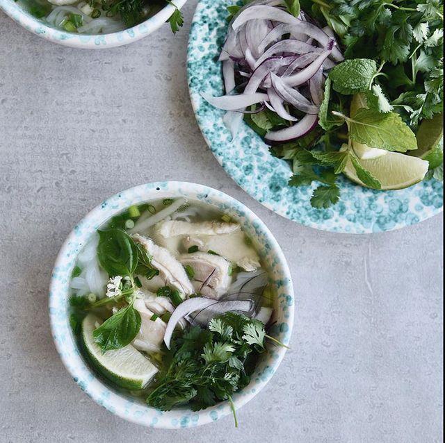 Dish, Food, Cuisine, Meal, Ingredient, Lunch, Comfort food, Soup, Vegetarian food, Pho,