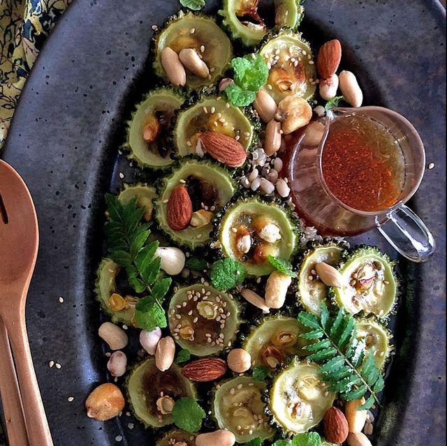 Dish, Food, Cuisine, Ingredient, Vegetable, Produce, Bruschetta, Salad, Recipe, Vegetarian food,