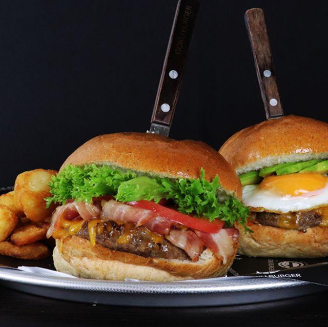Dish, Food, Cuisine, Ingredient, Junk food, Fast food, Hamburger, Whopper, Comfort food, Burger king premium burgers,