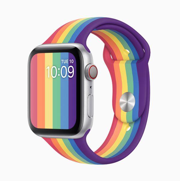 6月同志驕傲月將登場!apple推出全新apple watch彩虹版錶帶為lgbtq族群發聲