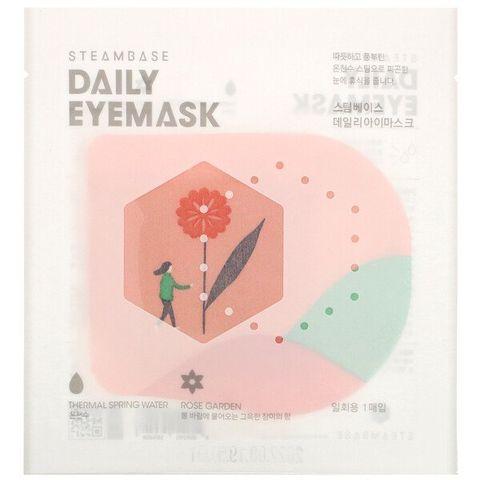 「steambase」daily eyemask, rose garden