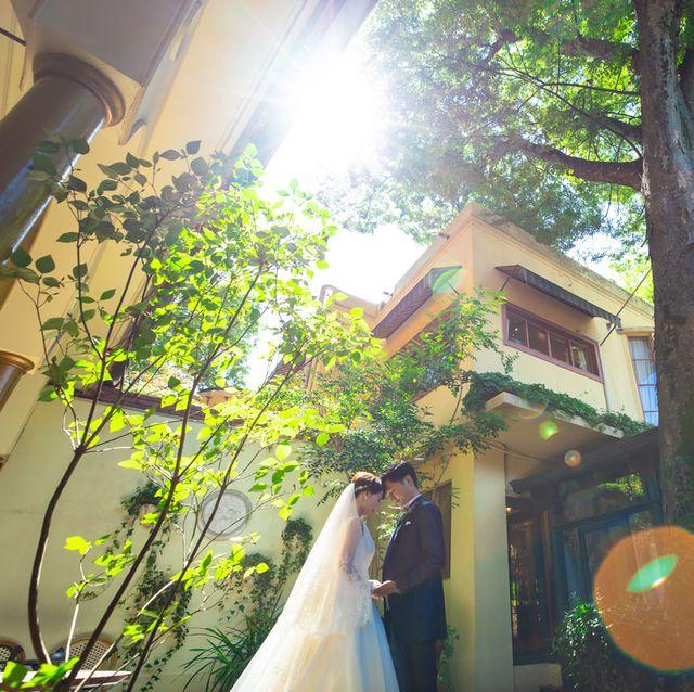 レストランasoでの結婚写真