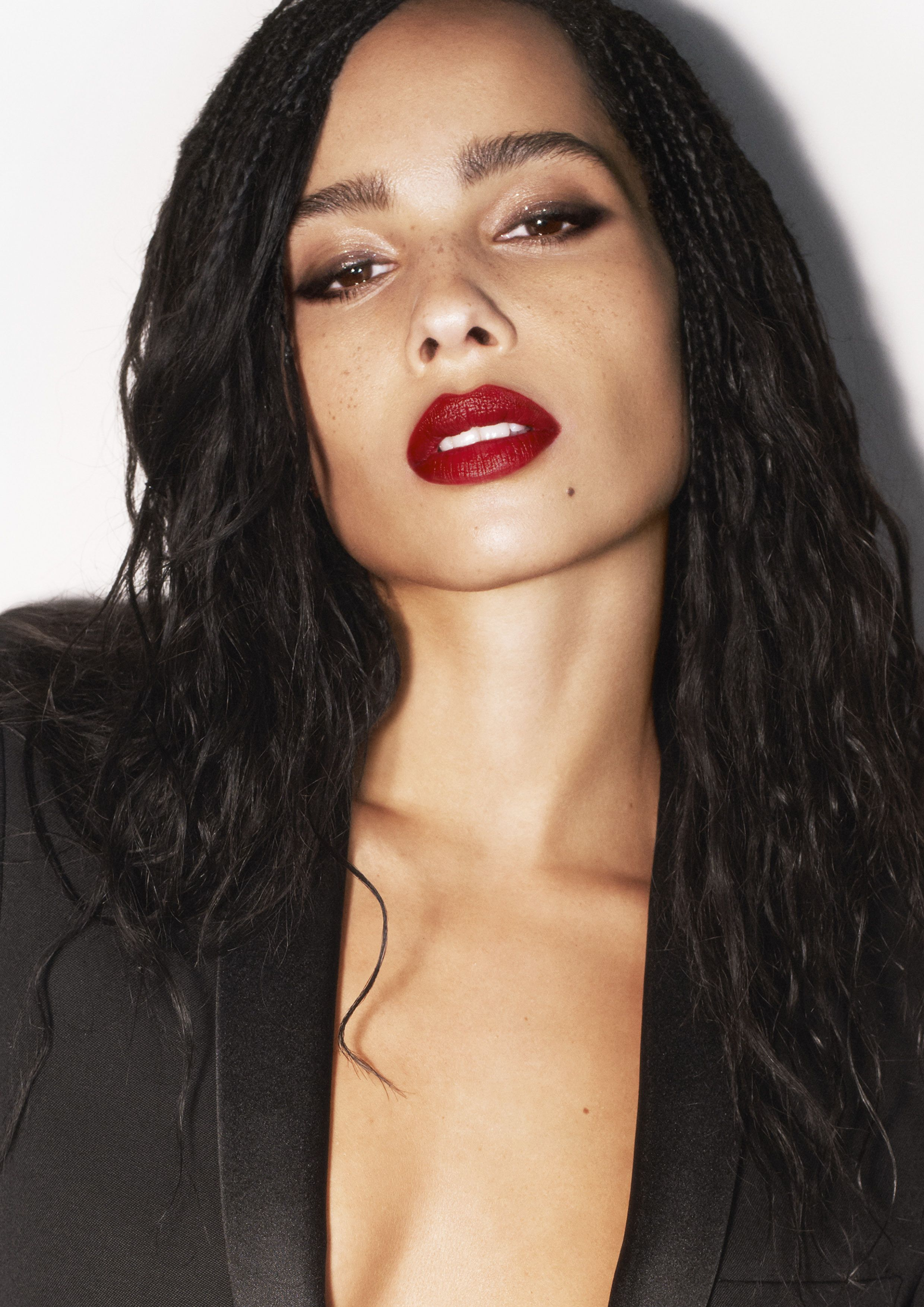 Zoë Kravitz Has a New Lipstick Line With YSL Beauty and Told Me All the Details