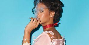 Rihanna as Marie Antoinette for CR Fashion Book