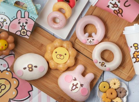 波提獅變卡納赫拉太萌了!mister donut x卡娜赫拉小動物,櫻花季限定甜甜圈浪漫登場
