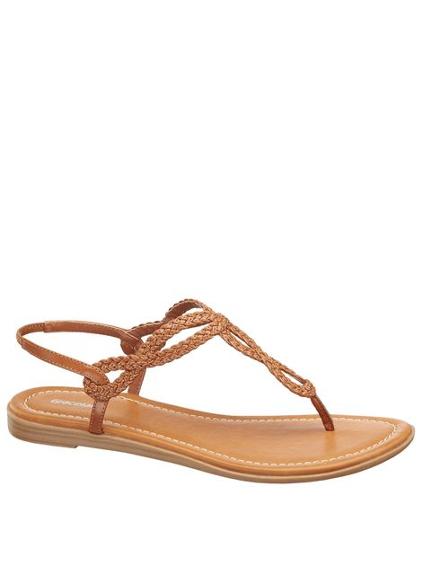 Footwear, Tan, Sandal, Shoe, Brown, Beige, Undergarment, Flip-flops, Slingback, Ballet flat,