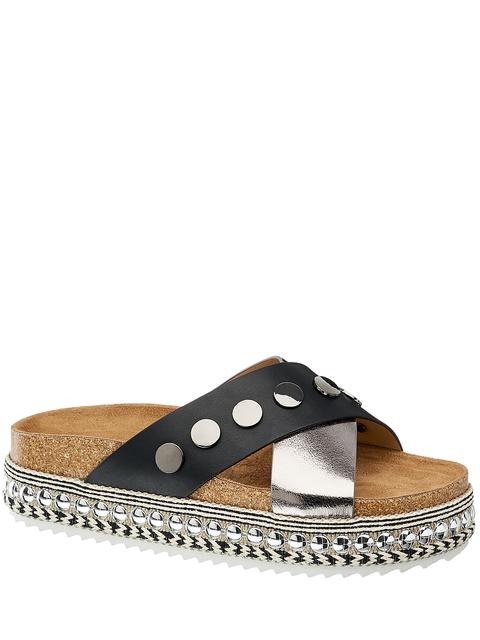 Footwear, Shoe, Sandal, Brown, Slide sandal, Beige, Leather, Espadrille, Slipper, Flip-flops,