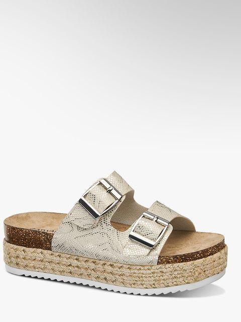 Footwear, Sandal, Shoe, Beige, Espadrille, Slingback, Leather, Wedge, Slide sandal,