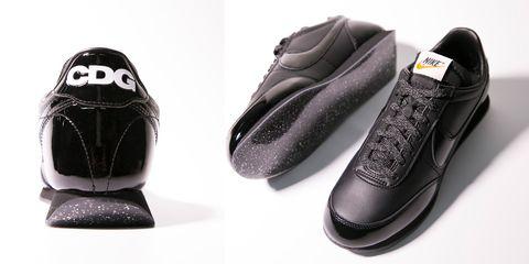 NIKE ,COMME des GARCONS BLACK,NIGHT BLACK,復古跑鞋,球鞋,運動鞋,川久保玲