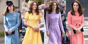Kate Middleton, Meghan Markle, 凱特王妃, 凱特王妃 穿搭, 梅根, 英國女王,英國皇室,皇室穿搭,皇室穿搭潛規則