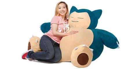 Stuffed toy, Plush, Toy, Textile, Child, Toddler, Interaction, Pillow, Furniture, Fun,