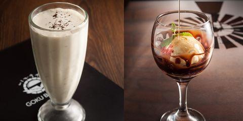 Food, Irish cream, Drink, Milkshake, Dessert, Cuisine, Ingredient, Non-alcoholic beverage, Dairy, Falooda,