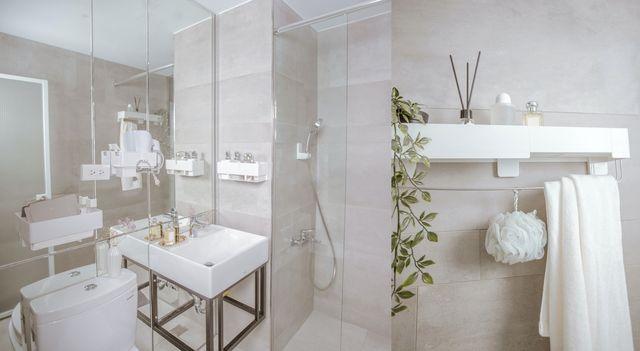 天啊!我也想要這樣的夢幻浴室!編輯手把手教學3大重點,打造令人怦然心動的極簡風浴室,每天進去就不想出來啦。