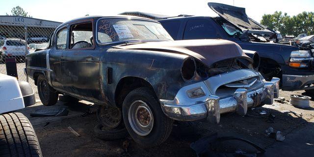 1955 studebaker commander in colorado junkyard