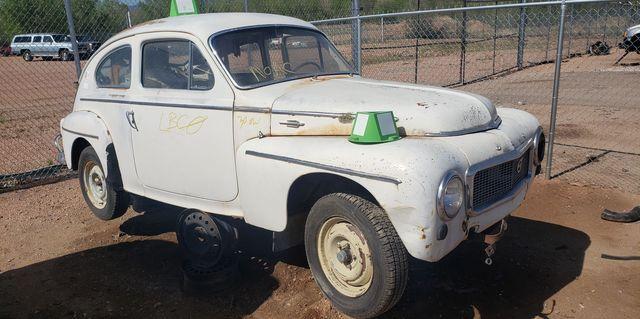 1959 volvo pv544 in colorado junkyard
