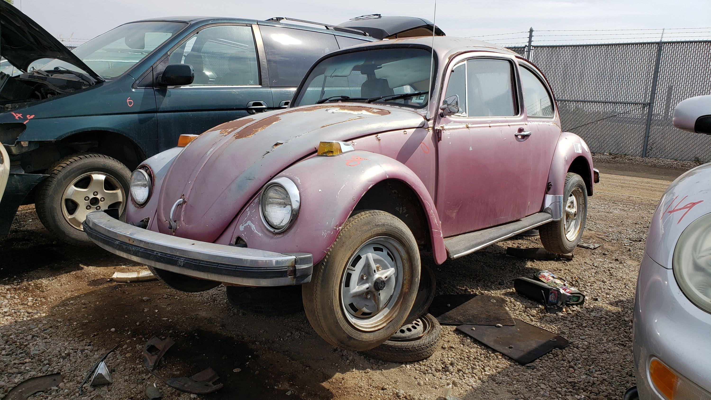 Junkyard Treasure 1976 Volkswagen Beetle Sedan