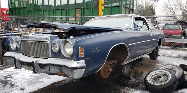 1977 chrysler cordoba in colorado junkyard