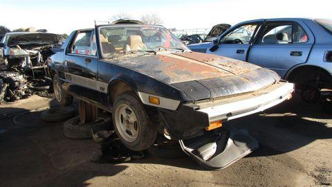 1979 Fiat X1/9 in Colorado Junkyard