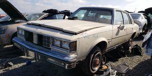 1984 Oldsmobile Cutlass Supreme Brougham Sedan in California junkyard