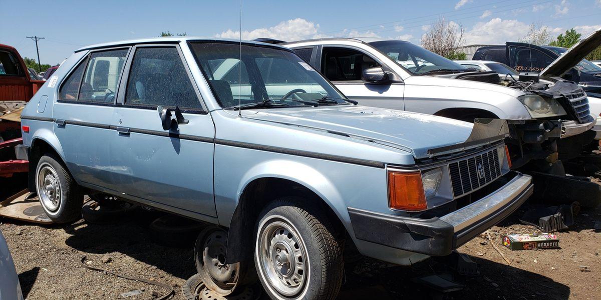 Loaded 1987 Plymouth Horizon Is Junkyard Treasure