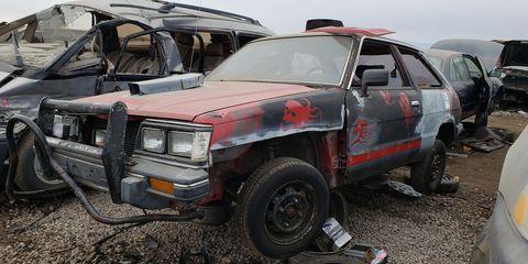 1989 subaru dl in denver junkyard