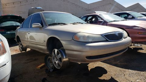 1998 Mercury Mystique in Arizona junkyard