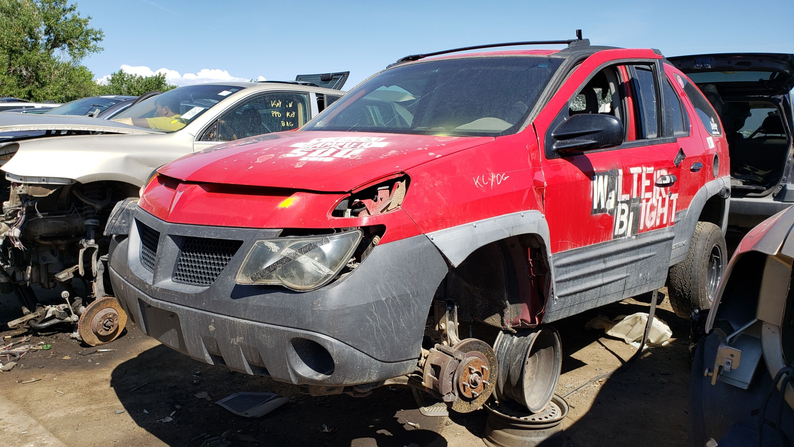 Junkyard Treasure 2001 Pontiac Aztek Walter Blight Edition