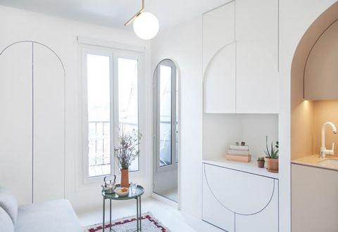 7 idee per arredare una casa piccolissima for Idee per case piccole