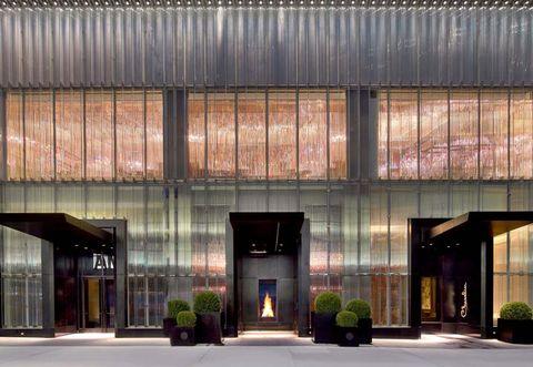 Facade, Commercial building, Door, Headquarters, Lobby, Courtyard,