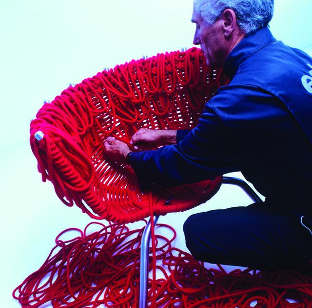 sedia vermelha by edra
