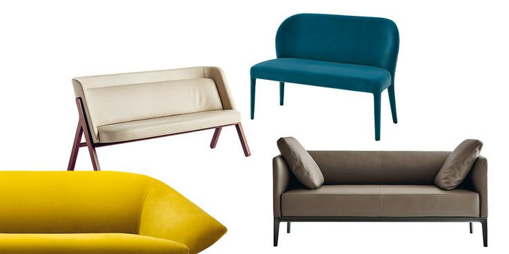 6 divani piccoli salvaspazio tendenza arredo 2018 - Divano poco profondo ...