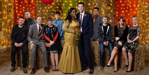 Jessie Christmas.Emmerdale Spoilers Jessie And Marlon S Christmas Wedding