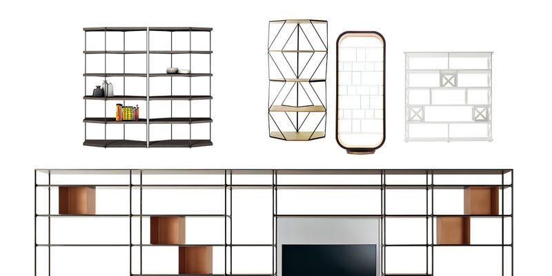 7 librerie di design per rinnovare l 39 arredo di casa - Casa in acciaio prezzo ...
