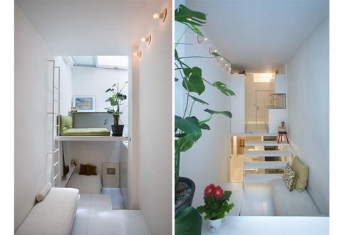 Green, Interior design, Room, Property, Wall, Floor, Ceiling, Interior design, Real estate, Fixture,