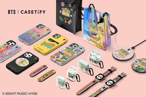 casetify聯名bts推出dynamite系列商品